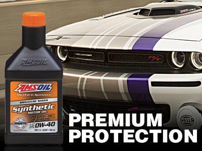 AMSOIL CANADA 0W-40 Synthetic Oil - Signature Series