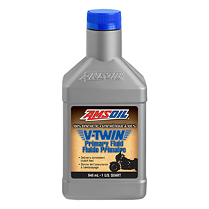 AMSOIL Synthetic V-Twin Primary Fluid Canada
