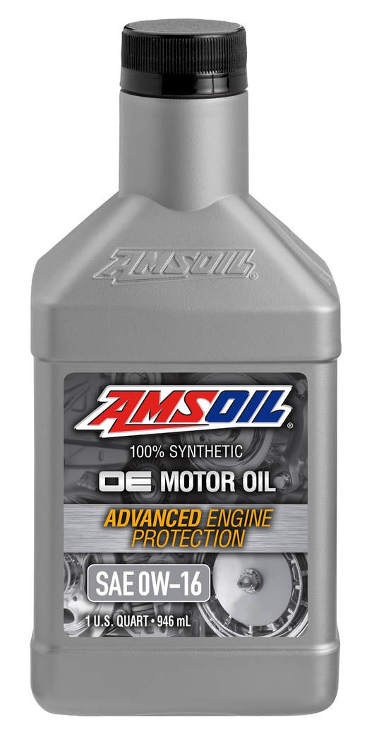 AMSOIL Canada 0W-16 Synthetic Motor Oil - Toyota Camry, Honda Fit